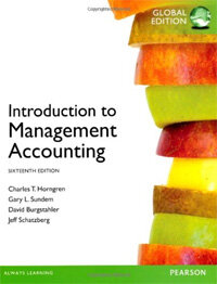 Introduction to Management Accounting Global Edition (Paperback, 16 ed)