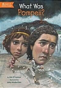 What Was Pompeii? (Paperback)