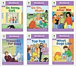 Oxford Reading Tree Workbook : Stage 1+ More First Sentences A (Workbook6권 + 스티커 7장)