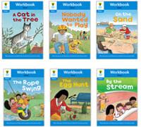 Oxford Reading Tree Workbook : Stage 3 Stories (Workbook6권 + 스티커 7장)