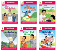 Oxford Reading Tree Workbook : Stage 4 More Stories A (Workbook6권 + 스티커 7장)
