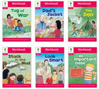 Oxford Reading Tree Workbook : Stage 4 More Stories C (Workbook6권 + 스티커 7장)