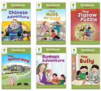 Oxford Reading Tree Workbook : Stage 7 More Stories A (Workbook6권)