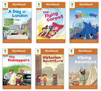 Oxford Reading Tree Workbook : Stage 8 Stories (Workbook6권)