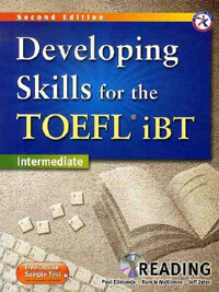 Developing Skills for the TOEFL iBT Reading : Intermediate (2nd Edition, Paperback + MP3 CD 1장)