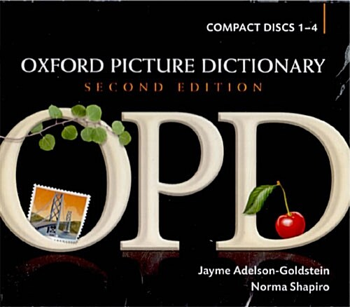 Oxford Picture Dictionary Second Edition: Audio CDs : American English pronunciation of OPDs target vocabulary (CD-Audio, 2 Revised edition)