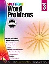 Spectrum Word Problems, Grade 3 (Paperback, CSM, Workbook)