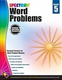 Spectrum Word Problems, Grade 5 (Paperback, CSM, Workbook)