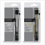 Moleskine Metallic Ink Roller Pen, Transparent, Medium Point (0.7 MM), Gold Metallic Ink [With Refill] (Other)
