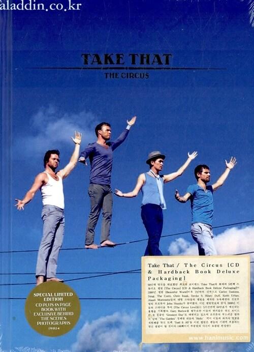 [수입] Take That - The Circus [CD & Hardback Book Deluxe Packaging]