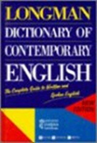 Longman Dictionary of Contemporary English with CD-ROM (New Words)