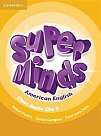 Super Minds American English Level 5 Class Audio CDs (4) (CD-Audio)