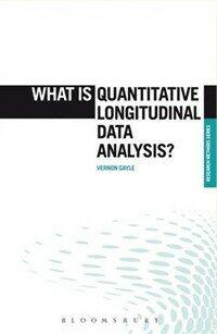 What is quantitative longitudinal data analysis?