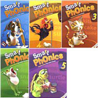 [세트] Smart Phonics 1~5권 (Student Book + CD, New Edition)