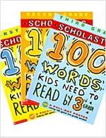 [세트] 100 Words Kids Need to Read by 1~3 Grade (Paperback 3권)