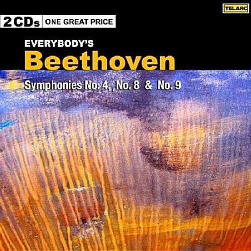 [수입] 루드비히 판 베토벤 : 교향곡 4번, 8번 & 9번 (2CD)