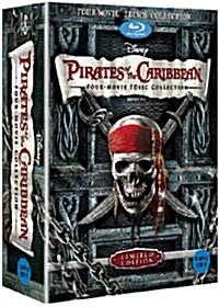 [블루레이] 캐리비안의 해적 박스세트 (7disc)