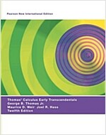Thomas' Calculus Early Transcendentals: Pearson New International Edition (Paperback, 12 ed)