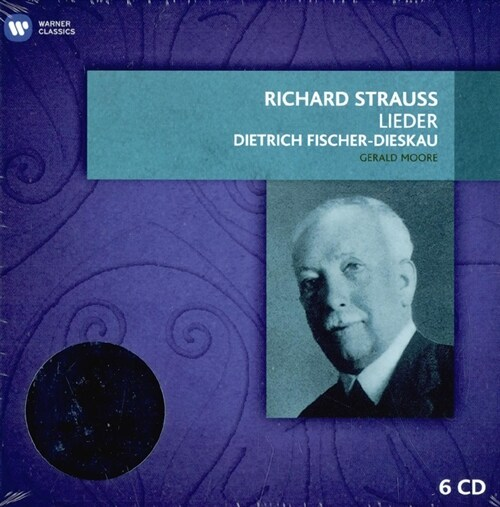 [수입] R. 슈트라우스 : 가곡집 [6CD 한정반]