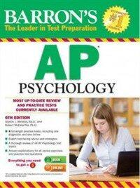 Barron's AP Psychology (Paperback, 6)