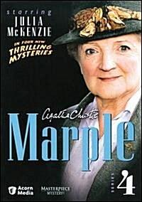 [수입] Agatha Christies Marple: Series 4 (아가사 크러스티 미스 마플: 시리즈 4) (지역코드1)(한글무자막)(4DVD Boxset) (2008)