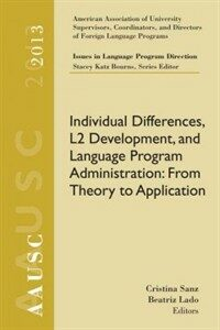 Individual differences, L2 development, and language program administration : from theory to application