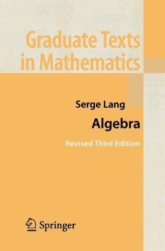 Algebra (Paperback, 3rd, 2 Volumes)