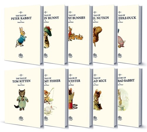 The Original Peter Rabbit Books Set 오리지널 피터래빗 이야기 영문판 10종 세트