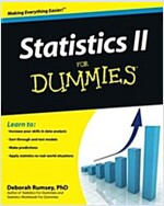 Statistics II for Dummies (Paperback)