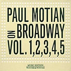 [수입] Paul Motian - On Broadway Vol.1, 2, 3, 4, 5 [5CD Limited Edition]