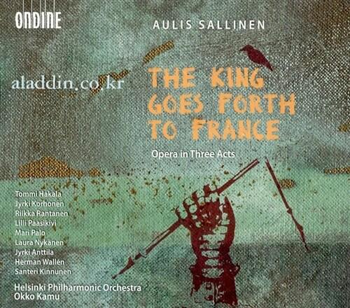 [수입] Aulis Sallinen : The King Goes Forth to France - Opera in Three Acts (2CD)