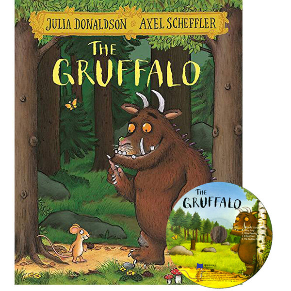 노부영 The Gruffalo (Paperback + CD)