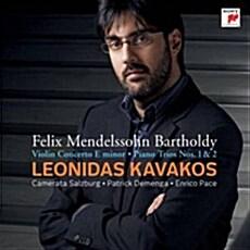 레오니다스 카바코스 - 멘델스존 바이올린 협주곡, 피아노 트리오 1,2번 (2CD)