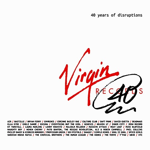 Virgin Records: 40 Years Of Disruptions [3CD]