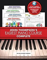 John Thompson's Easiest Piano Course - Complete [With 4 CDs] (Boxed Set)