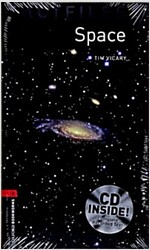 Oxford Bookworms Library Factfiles: Level 3:: Space Audio CD Pack (Package)