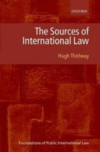 The sources of international law / 1st ed