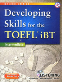 Developing Skills for the TOEFL iBT Listening : Intermediate (Paperback + MP3 CD, 2nd Edition)