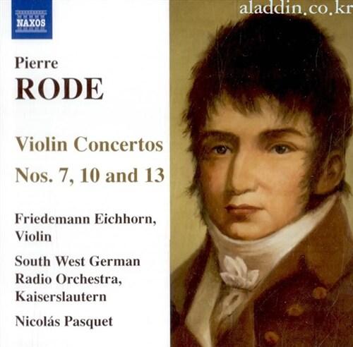 [수입] 로드 : 바이올린 협주곡 7,10,13번