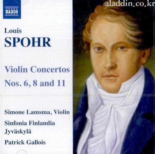 [수입] 슈포어 : 바이올린 협주곡 6,8,11번