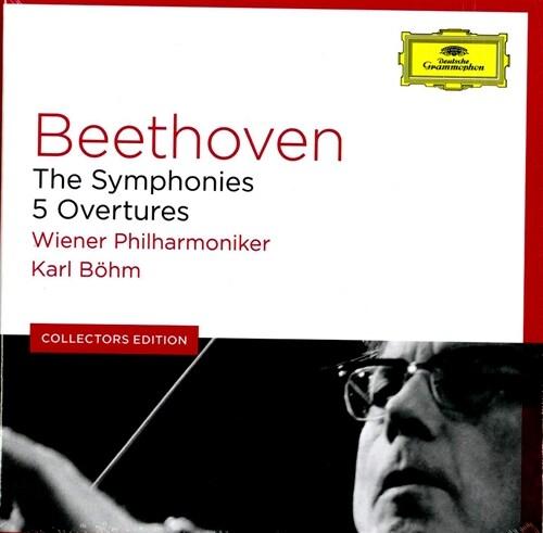 [수입] 베토벤 : 교향곡 전곡, 다섯 개의 서곡 [6CD]