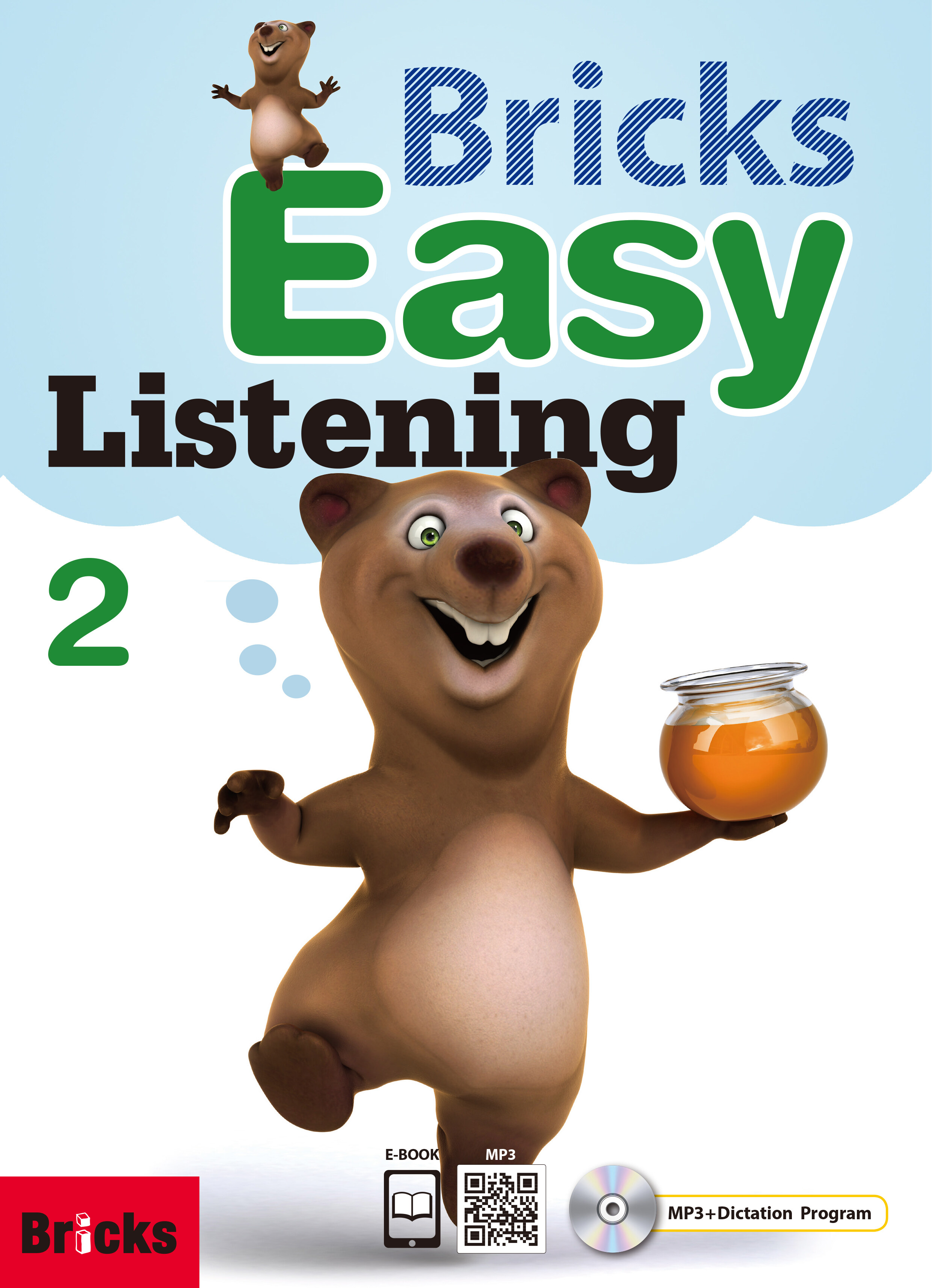 Bricks Easy Listening 2 (Student Book + Work Book + QR + Dictation CD +  Eb)