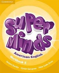 Super Minds American English Level 5 Workbook (Paperback)