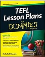 Tefl Lesson Plans for Dummies (Paperback)