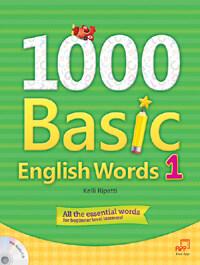 1000 Basic English Words 1 (Paperback + Audio CD)