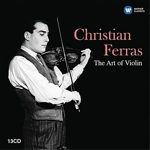 [중고] 크리스티앙 페라스 - 바이올린의 예술 [세계 최초 발매 EMI 레코딩 선집 13CD 한정판 박스세트]