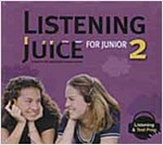 Listening Juice For Junior 2 : Audio CD