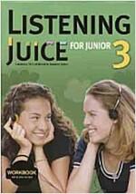 Listening Juice for Junior 3 : Workbook (Paperback)