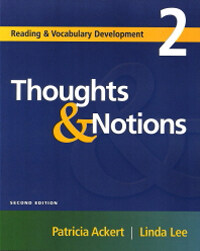 Thoughts & Notions (Studentbook, 2nd Edition)