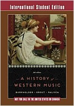 History of Western Music (Paperback, 9th)
